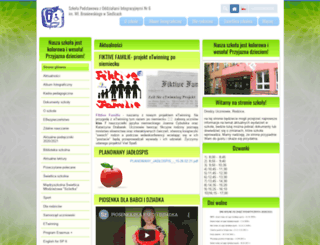 sp6siedlce.edupage.org screenshot