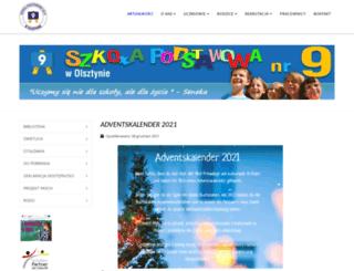 sp9.olsztyn.pl screenshot