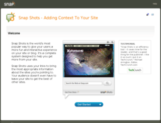 spa.snap.com screenshot