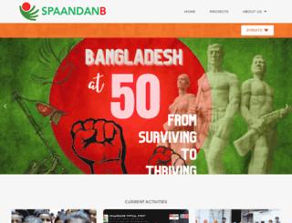 spaandanb.org screenshot