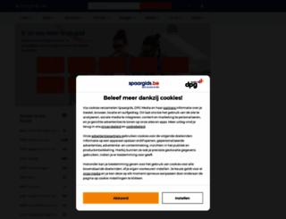 spaargids.be screenshot