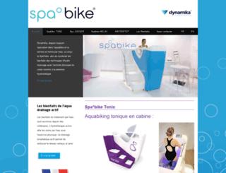 spabike.com screenshot