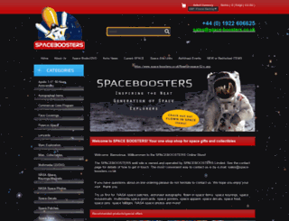 space-boosters.co.uk screenshot