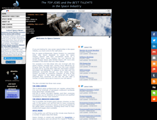 space-careers.com screenshot