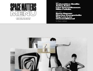 space-matters.com screenshot