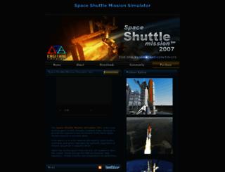 space-shuttle-mission.com screenshot