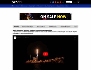 space.com screenshot