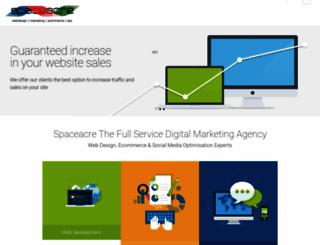 spaceacre.com screenshot
