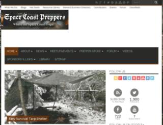 spacecoastpreppers.com screenshot