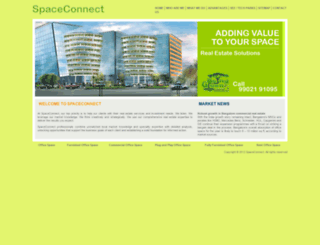spaceconnect.in screenshot