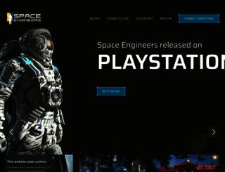 spaceengineersgame.com screenshot
