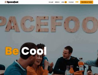 spacefoot.com screenshot