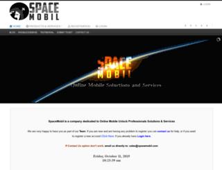 spacemobil.com screenshot