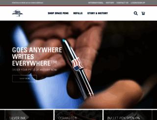spacepen.com screenshot