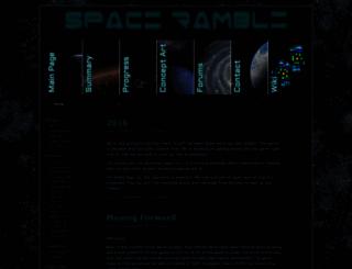 spacerambles.com screenshot