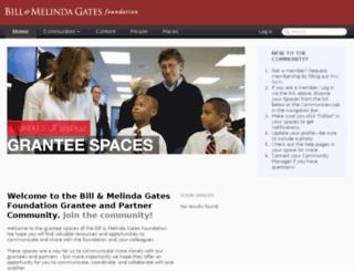 spaces.gatesfoundation.org screenshot