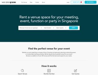 spaces.sg screenshot