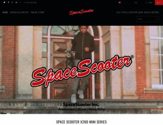 spacescooter.eu screenshot