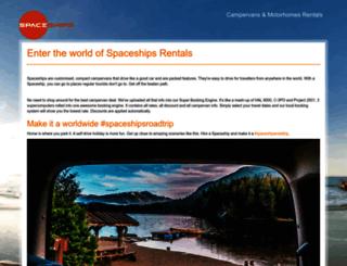 spaceships.tv screenshot
