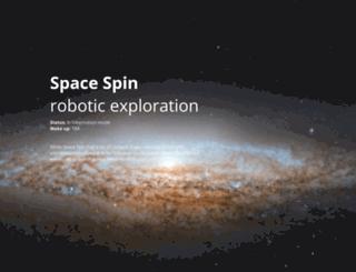 spacespin.org screenshot