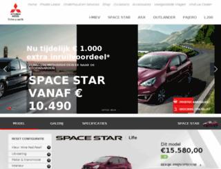 spacestar.mitsubishi-motors.nl screenshot