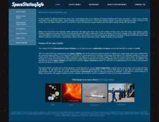 spacestationinfo.com screenshot
