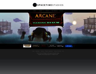 spacetimestudios.com screenshot