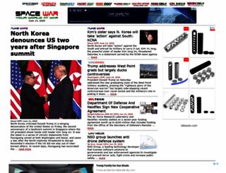 spacewar.com screenshot