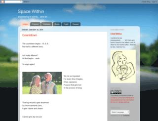 spacewithinme.blogspot.com screenshot