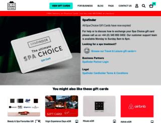 spafinder.co.uk screenshot