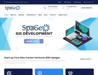 spageo.co.in screenshot