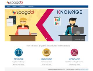 spagobi.org screenshot