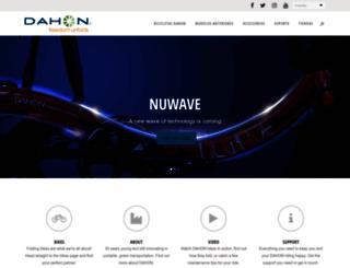 spain.dahon.com screenshot