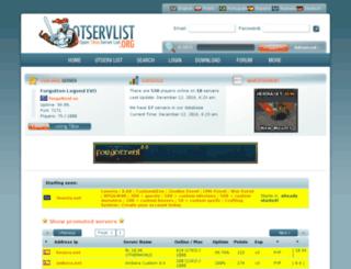 spain.otservlist.org screenshot