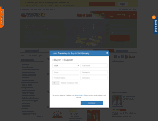 spain.tradekey.com screenshot