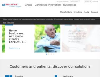 spainmedicinal.airliquide.com screenshot