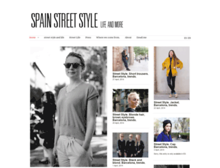 spainstreetstyle.es screenshot