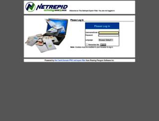 spam.netrepid.com screenshot