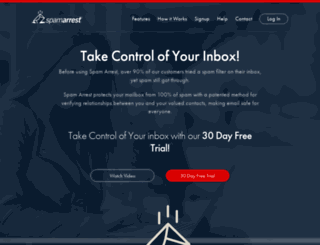 spamarrest.com screenshot