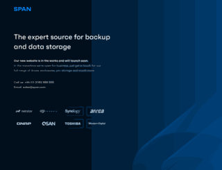 span.com screenshot
