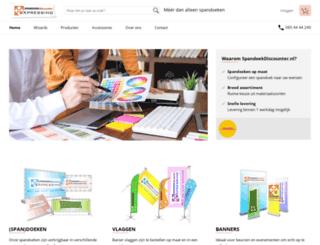 spandoekdiscounter.nl screenshot