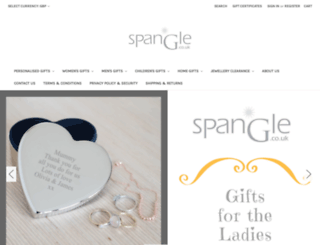 spangle.co.uk screenshot