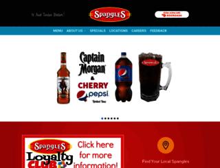 spanglesinc.com screenshot