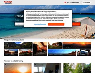 spanie.pl screenshot