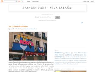 spanienfans.com screenshot