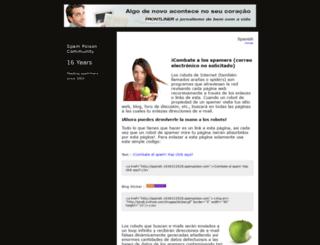 spanish-161177590736.spampoison.com screenshot