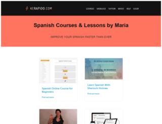 spanish-bookworld.com screenshot