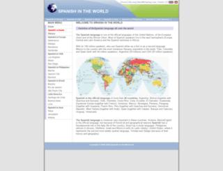 spanish-in-the-world.net screenshot