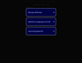 spanish-only.com screenshot
