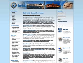 spanish-town-guides.com screenshot